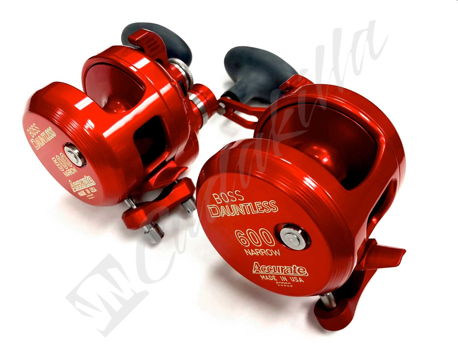 Accurate Dauntless DX2 Conventional Reel - Red