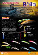Prohunter Bibless Sinking Minnow Brochure
