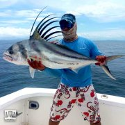 Prohunter Bibless Sinking Minnow with Panama Roosterfish